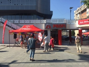 Inaugurare supermarket PROFI din Mercur Center