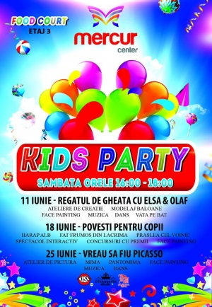 Kids Party - Regatul de gheata