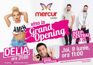 Grand Opening Mercur Center!